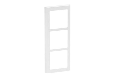 LK FUGA Softline® Design Frame 63, 3 module (no. 560D6030), white