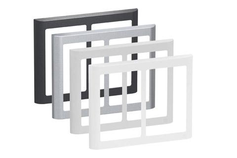 LK FUGA Softline Design ramme, 2x1,5 modul, alle farver