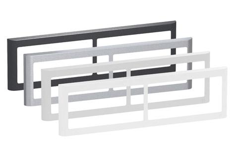 LK FUGA Softline Design ramme, 2x2 modul, alle farver