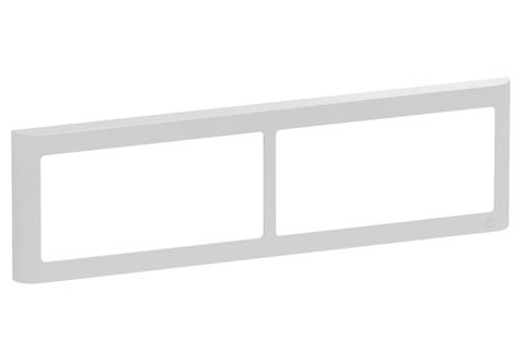 LK FUGA Softline® Design Frame 63, 2x2 module (no. 560D5340), light grey