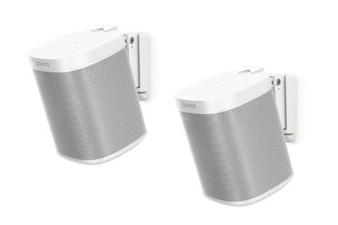 Flexson vægbeslag til Sonos One højttalere, hvid
