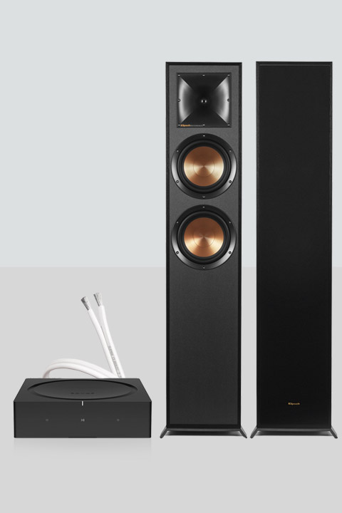 Sonos AMP inkl. Klipsch R620F højttalere