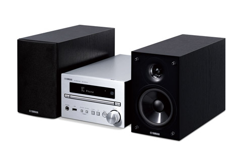 Yamana MCR-B270D stereo anlæg, sølv/sort
