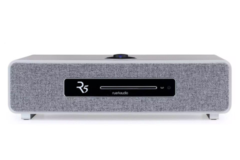 Ruark Audio R5 Music System with FM/DAB+ radio and CD-player, grey