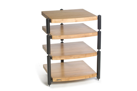 Atacama Audio Eris Hi-Fi rack black/nature bamboo