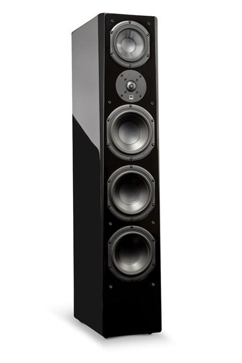 SVS Prime Pinnacle Tower, black gloss