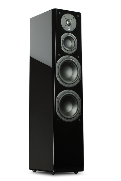 SVS Prime Tower, black gloss