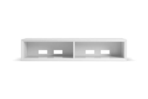 Clic 120 grundmøbel, hvid
