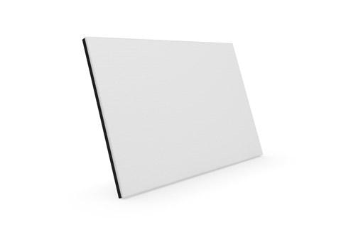 Clic C21 stoflåge, hvid