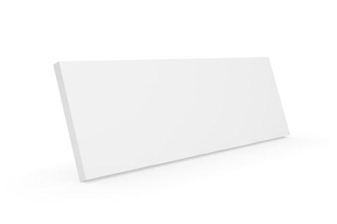 Clic D11 trælåge, hvid