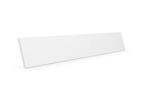 Clic D12 trælåge, hvid