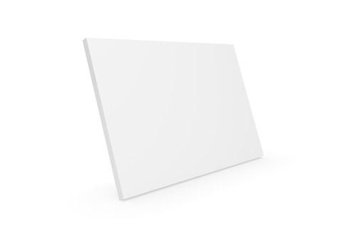 Clic D21 trælåge, hvid