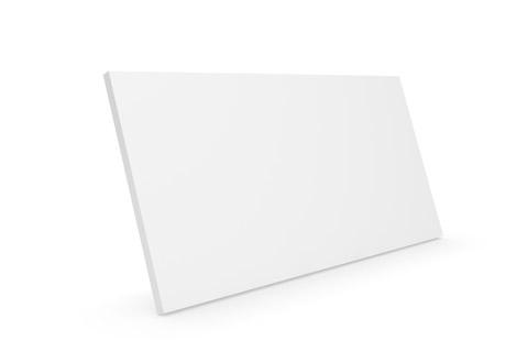 Clic D21 Large trælåge, hvid