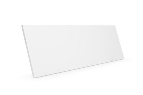 Clic D22 trælåge, hvid