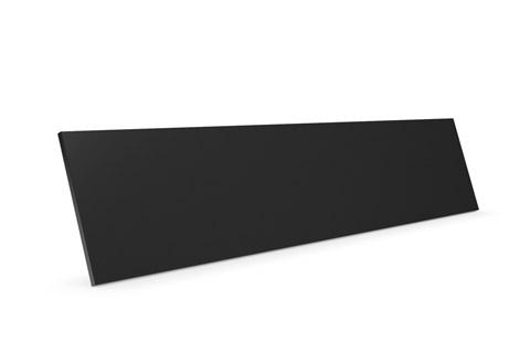 Clic D23 trælåge, sort