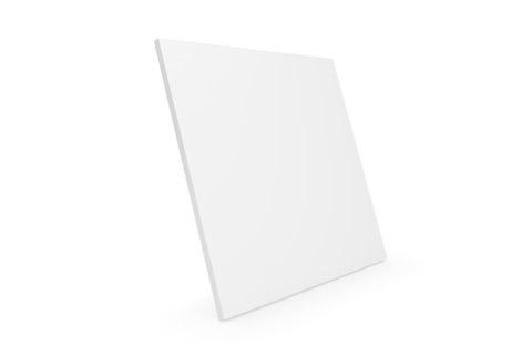 Clic D31 trælåge, hvid