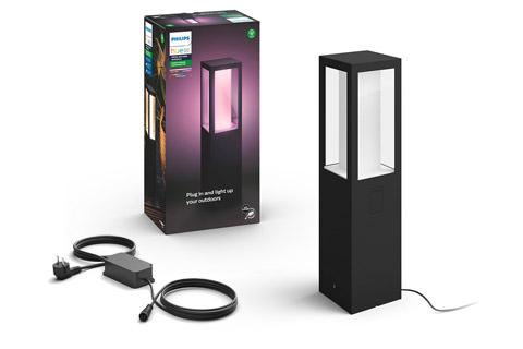 Philips Hue Outdoor Impress piedestal lampe, base kit