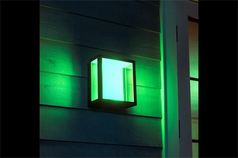 Philips Hue Outdoor Impress væglampe Large