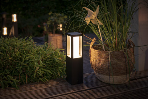 Philips Hue Outdoor Impress piedestal lampe, extension