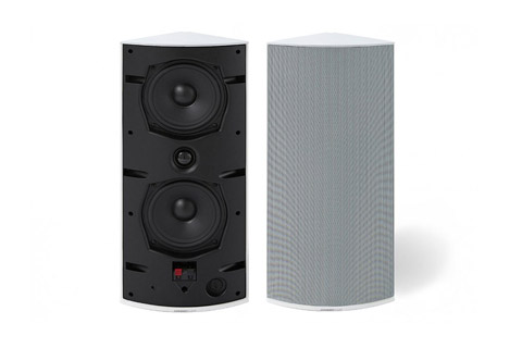 Cornered Audio Ci4 corner speaker, white,  1 pair