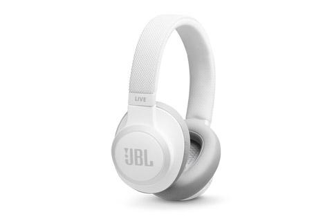 JBL Live 650BTNC hovedtelefoner, hvid