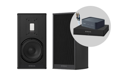 Piega Premium 301 Wireless bundle, sort