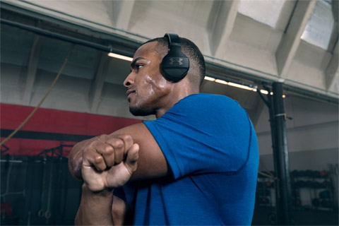 JBL Under Armour Wireless Train, lifestyle
