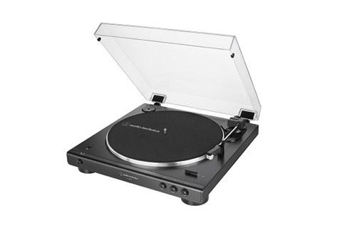 Audio Technica AT-LP60XBT, sort