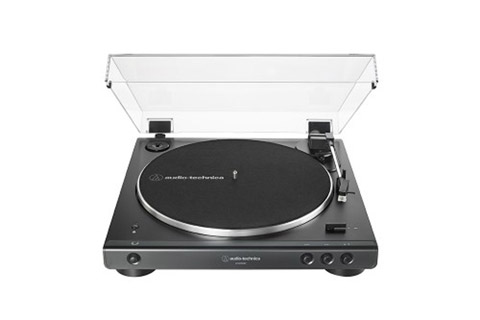 Audio Technica AT-LP60XBT, sort