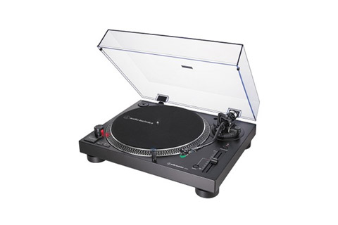 Audio  Technica AT-LP120X, sort