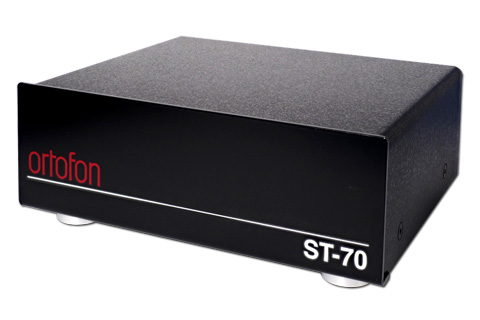 Ortofon ST-70 Dual mono step-up transformer, black