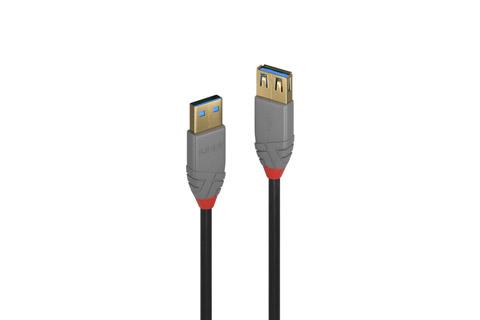 Lindy Anthra line USB-A til USB-A forlænger kabel, 3.0