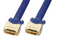Lindy high-end Dual Link DVI-D kabel på 25m til høje opløsninger. Konstrueret af den højeste kvalitets kobber og kraftig skærmning for at undgå støj.