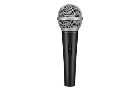 Stageline DM-1100 handheld microphone incl. cable