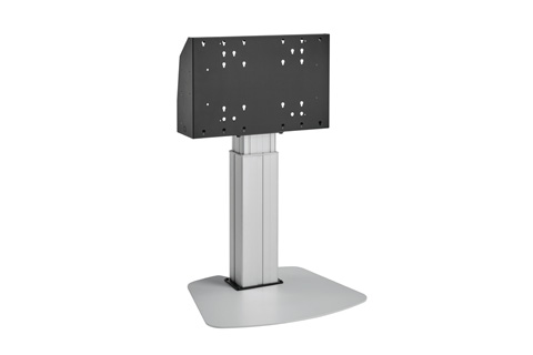 Vogels Pro motorized floorstand for >65'' monitors, silver