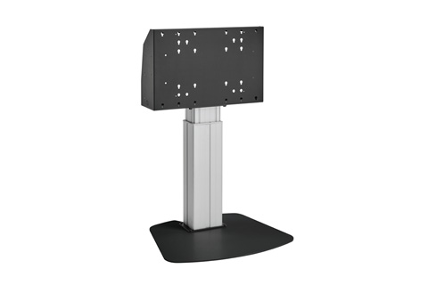 Vogels Pro motorized floorstand for >65'' monitors, black