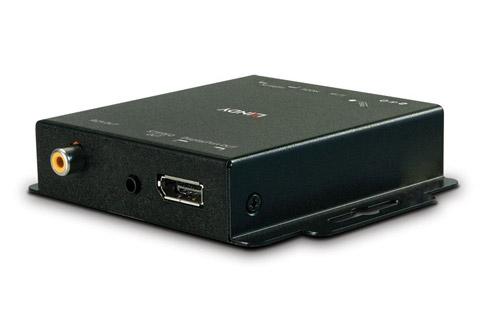 Lindy HDMI 2.0 til DisplayPort 1.2 konverter - Back