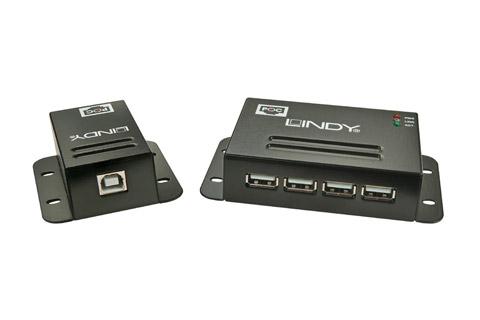 Lindy CAT5 USB 2.0 CAT netværks forlænger