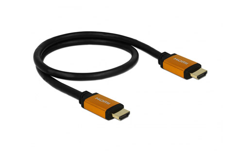 DeLOCK HDMI 2.1 kabel, 8K@60Hz - Round