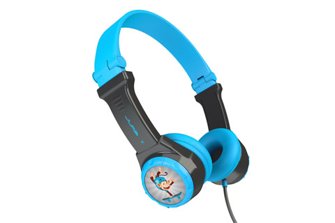 JLab Audio JBuddes kids headphone, blue