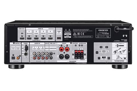 Onkyo TX-SR393 surround forstærker, sort