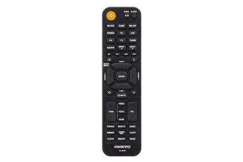Onkyo TX-SR494 surround receiver, remote