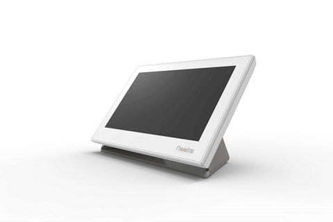 Neets Table stand for Neets touch panel - White Front