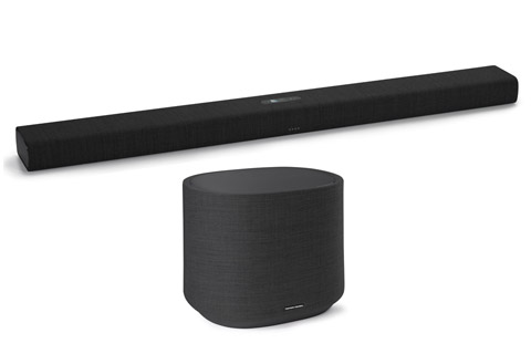 Harman Kardon Citation Bar med subwoofer, sort