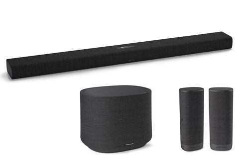 Harman Kardon Citation Bar med subwoofer og sourround, sort