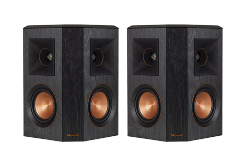 Klipsch Reference RP-402S surround højttalersæt, sort