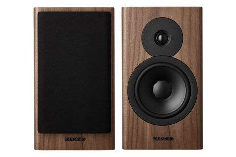 Dynaudio Evoke 20 bookshelf speaker, wood veneer, walnut,  1 pair