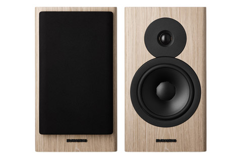 Dynaudio Evoke 20 bookshelf speaker, blonde wood,  1 pair