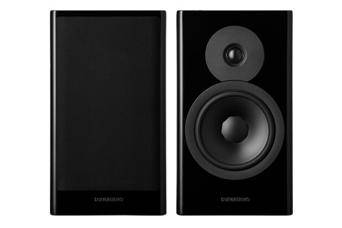 Dynaudio Evoke 20 bookshelf speaker, black highgloss,  1 pair