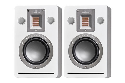 Audiovector QR Wall vaeghojttalersæt, hvid